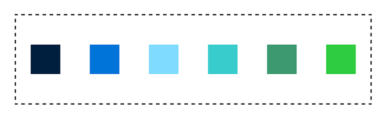 space around with flexbox