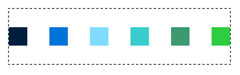 space-between with flexbox