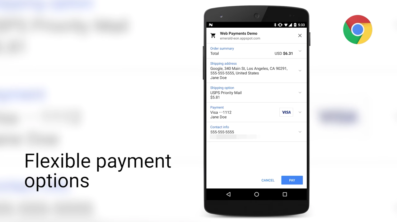 Payment Request API Demo