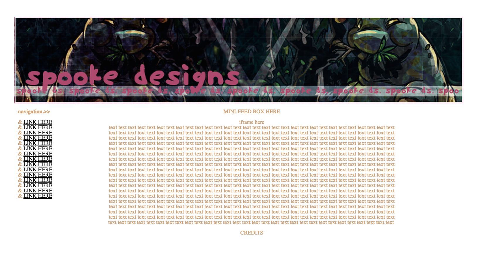 My First Website Layout