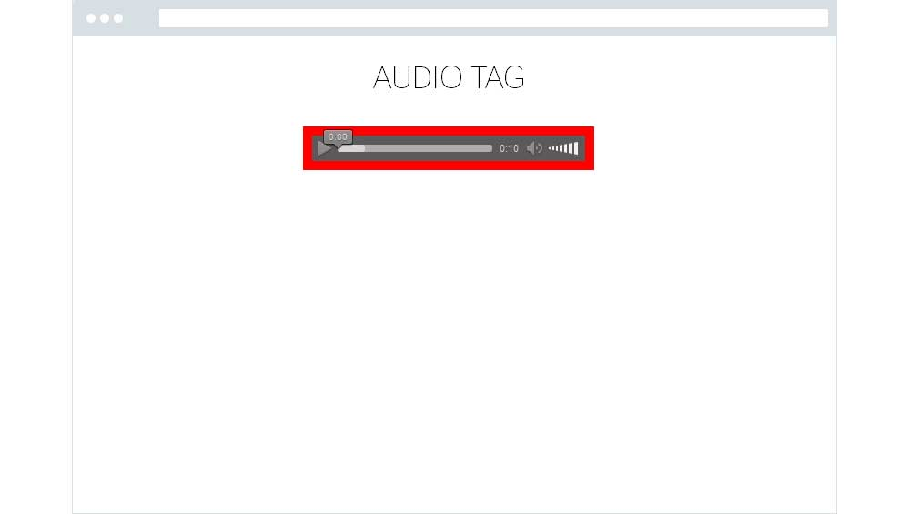 Audio Tag on Firefox