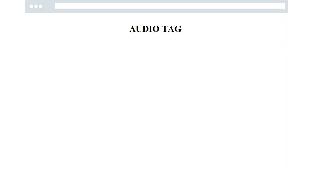 Audio Tag on IE